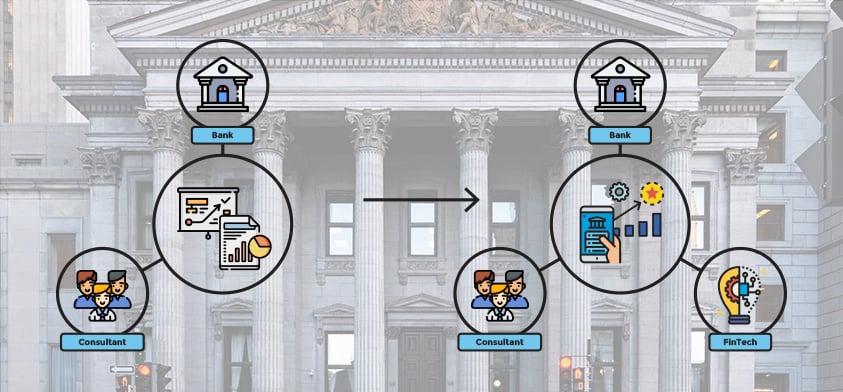 Innovationstrio der Zukunft: Banken, Consultants und FinTechs