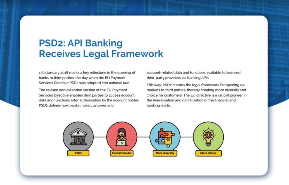 Legal Framework for API Banking