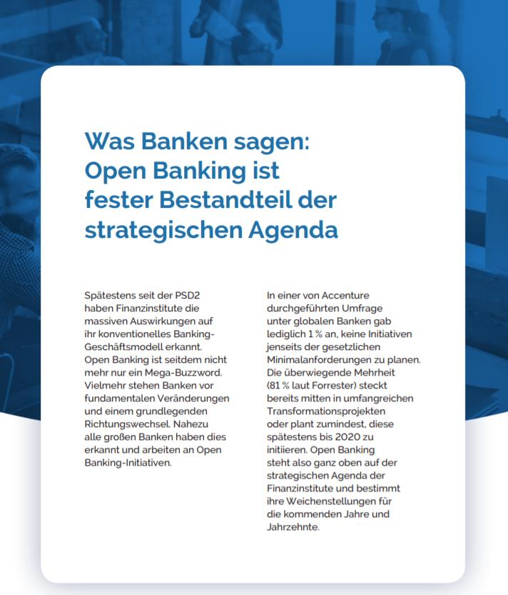 Open Banking als Teil der Strategie
