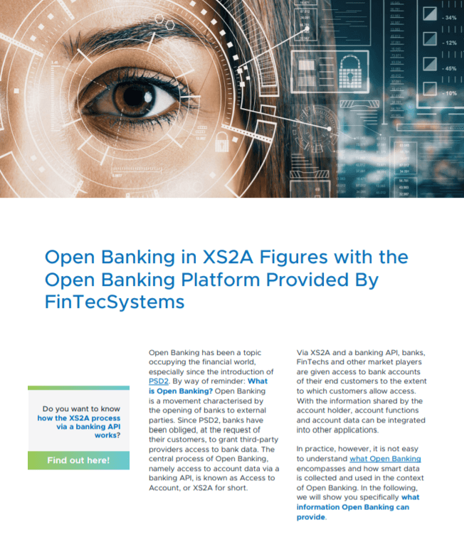 Open Banking in XS2A Figures